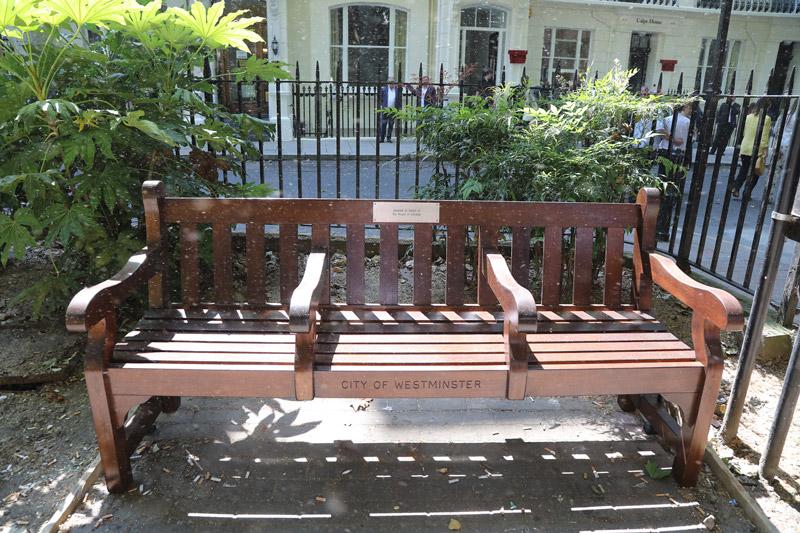 Bench in Norfolk Square Image