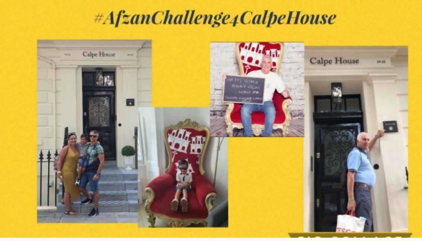Afzan Challenge for Calpe House