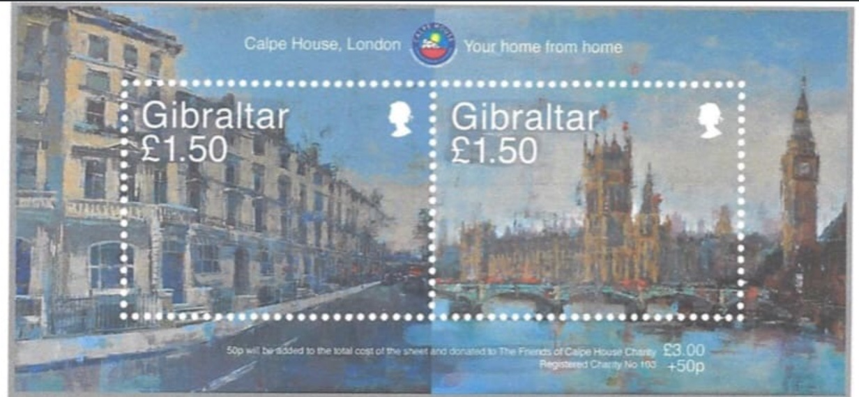 Calpe House Stamps